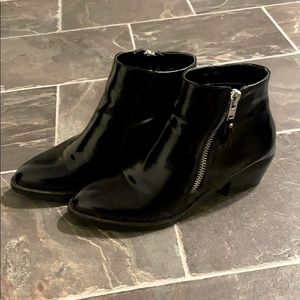 Forever 21 faux PU leather boots